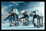Empire Poster  Motiv  Star Wars at-at auf Hoth  Zu