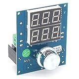 DollaTek XH-M403 Regulador Buck de Voltaje Digital DC-DC Paso Abajo Módulo de Fuente de alimentación 5-36V a 1.3-32V Protección contra Temperatura