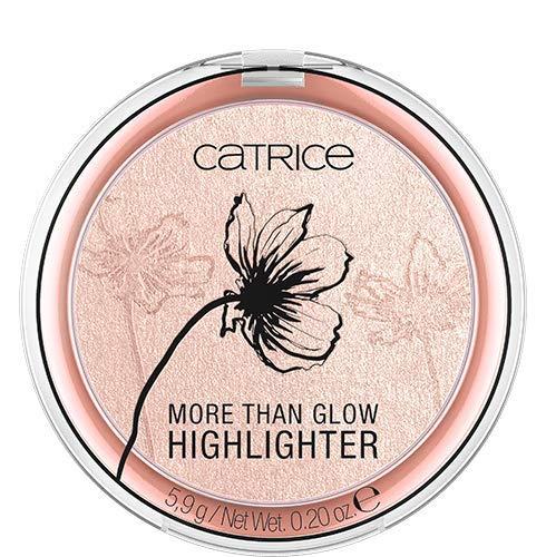 Catrice More Than Glow Highlighter, Nr. 020 Supreme Rose Beam, pink, intensiv, metallisch, schimmernd, vegan, Nanopartikel frei, ohne Parfüm, 3er Pack (3 x 5,9g)