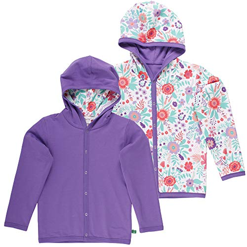 Fred'S World By Green Cotton Aloha Jacket Blouson, Multicolore (Purple 018363301), 56/62 Bébé Fille
