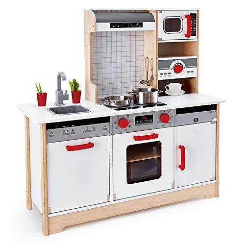 Juguetes de madera para niños en la cocina, utilizados como juguetes de simulación para la educación temprana, un juego de cocina completamente funcional, adecuado para niños mayores de 3 años