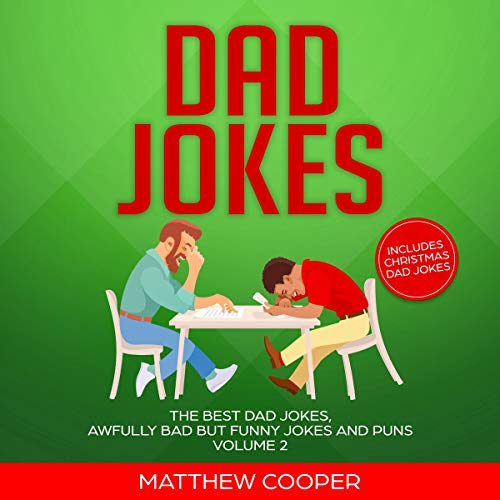 Dad Jokes: The Best Dad Jokes, Awfully Bad but Funny Jokes and Puns cover art