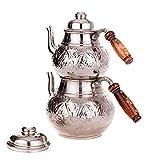 Türkische Kupfer Teekanne...image