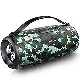 ZEALOT S34 Altavoz Portatil Bluetooth 5.0, Altavoces Portatiles 20W, Sonido Envolvente De 360 °, Waterproof IPX5 con Pendrive, 24 Horas de Reproducción, Micrófono Incorporado, AUX/TF, USB