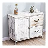 <span class='highlight'>Cherry</span> <span class='highlight'>Tree</span> <span class='highlight'>Furniture</span> Distressed White Paulownia Wood Shabby Chic Sideboard Storage Cabinet