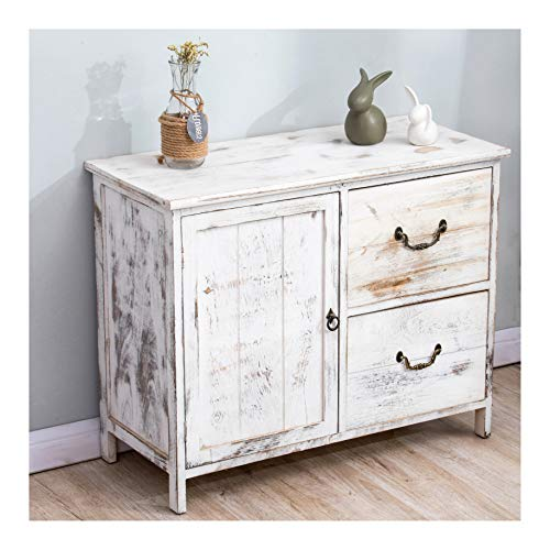 Cherry Tree Furniture Distressed White...