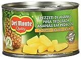 Del Monte Cluster Piña Troceada - Pack de 3 x 230g - Total: 690 g