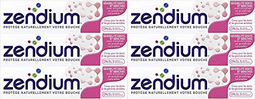 Zendium Sensitiv Zahncreme 75ml, 6er Pack (6x 75ml)