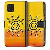 DeinDesign Étui Compatible avec Samsung Galaxy Note 10 Lite Étui Folio Étui magnétique Naruto...
