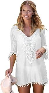 2e74d8918 Amazon.es: vestidos blanco playa: Ropa