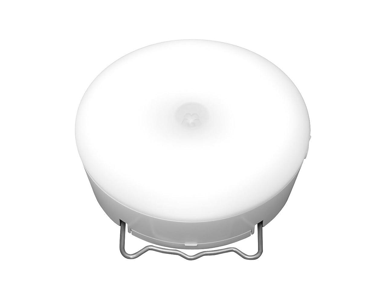 アルコール緊急アレイアイリスオーヤマ 乾電池式屋内センサーライト マルチタイプ 昼白色相当 BSL40MN-W