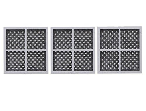 NISPIRA Refrigerator Air Filter Compatible with LG LT120F ADQ73214404, 3 Packs