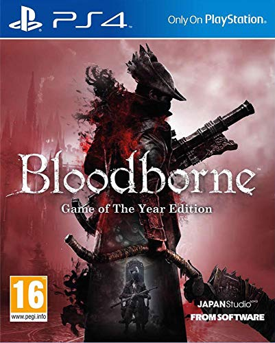 Bloodborne - Game Of The Year PS4 Game New (Middle Eastern Version)