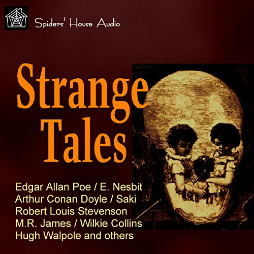 Strange Tales audiobook cover art