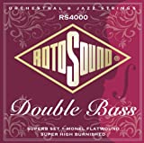 Rotosound RS4000M Superb Double Bass Nylon/Monel Flatwound...