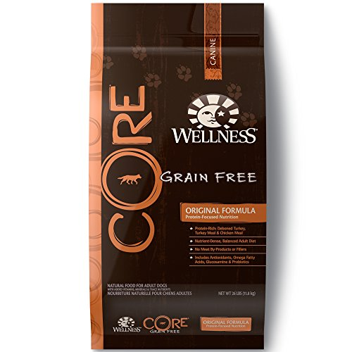 Wellness Core Natural Grain Free Dry Dog Food,...