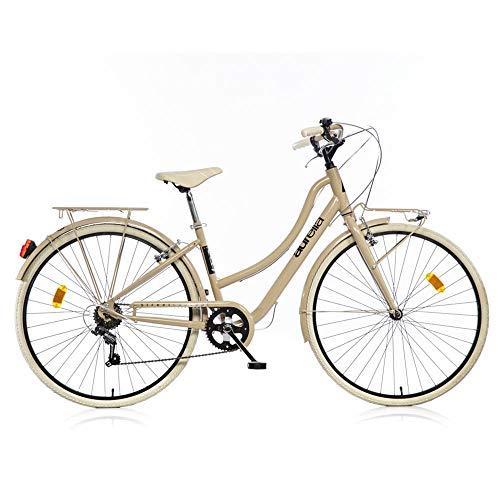 aurelia Donna, Bicicletta 28' 1028STD Street Bike Cappuccino, Multicolore