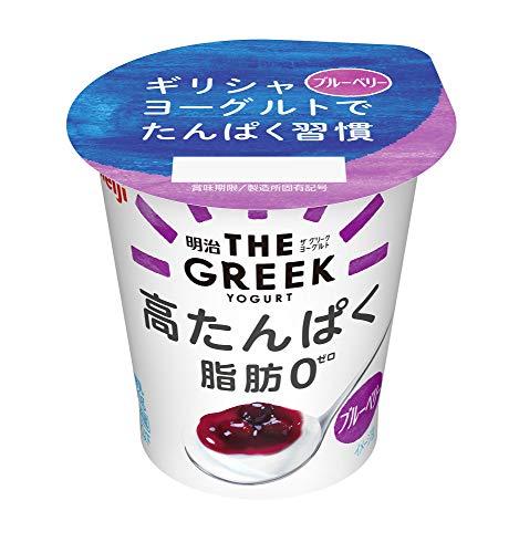 明治『THE GREEK YOGURT ブルーベリー』
