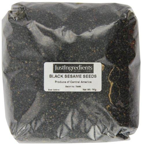 JustIngredients Essential Graines de sésame noir (Black Sesame Seeds) 1kg