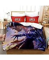 寝具カバー・シーツ掛けふとんカバー布団カバー セット 布団カバーセットA-P-E-Xベッドセット100%マイクロファイバー快適な柔らかいソフト(布団カバー+ピローケース) (Color : A, Size : 264*239cm)