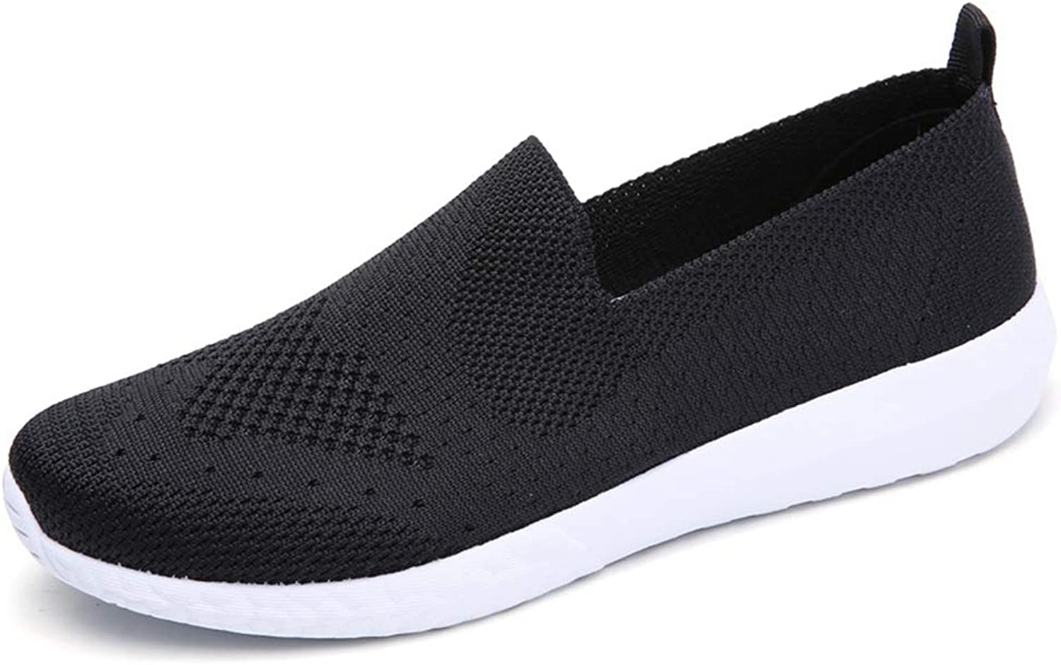 T-JULY Summer Fashion Women Flats Loafers Mesh Sneakers Slip on Casual Breathable Footwear Light shoes