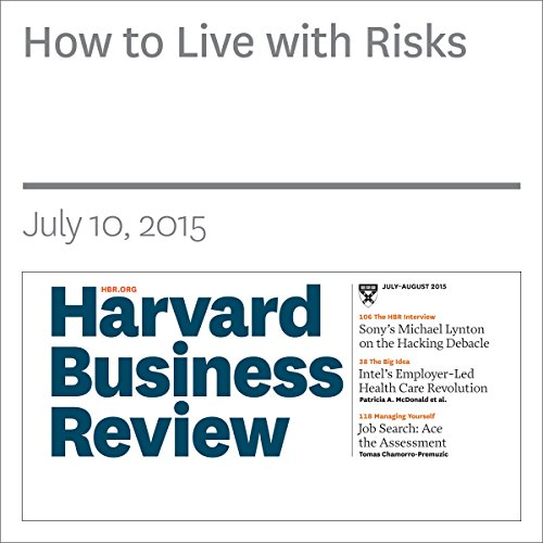 How to Live with Risks audiobook cover art