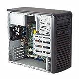 CSE-731I-300B - SUPER MICRO COMPUTER CSE-731I-300B Supermicro SC731 i-300B - Mid tower - micro ATX 300 Watt - black Supermicro CSE-731I-300B 300Watts Mini-Tower Workstation Micro-ATX