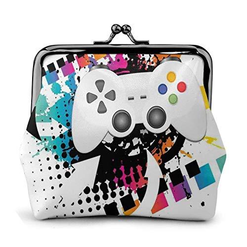 Moderno juego de consola controlador tema regalo para mujeres – monedero de...