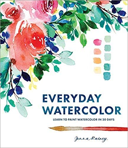[By Jenna Rainey ] Everyday Watercolor (Paperback)【2018】by Jenna Rainey (Author) (Paperback)