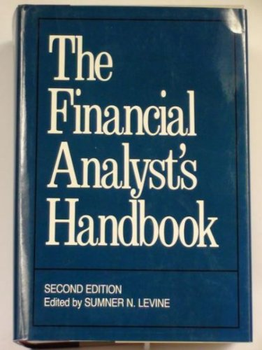 The Financial Analyst's Handbook