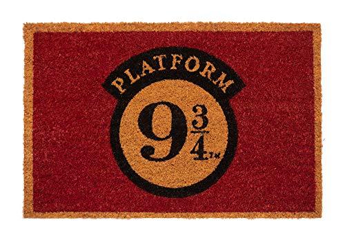 Erik® Harry Potter Platform 9 3/4 Fussmatte, 40x60cm Schmutzfangmatte