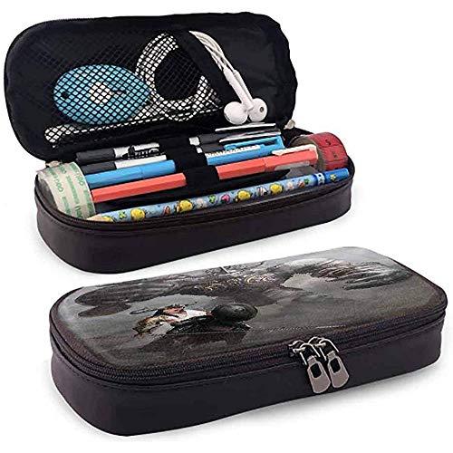Bleistiftbeutel, federmäppchen tasche, federmäppchen, große kapazität bleistift slot fantasie fiktionale geschichte frau figur 20cm * 9cm * 4cm
