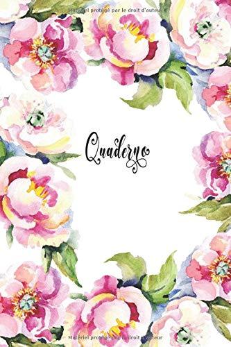 Quaderno: Taccuino floreale per le donne, Design romantico per la festa della mamma, 16 x 24 cm, 120 pagine.