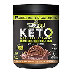 Nature Fuel Keto Meal Replacement Shake