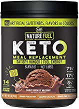 Healthy Delights Nature Fuel, Chocolate Milkshake, 14 Servings, (Pack of 1) 18.7 Ounce