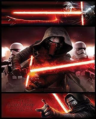 Star Wars Mini Poster EP7kylo Ren Panels episode7Taille 40x 50+ accessoires de fixation