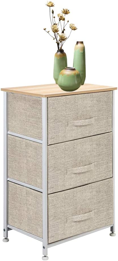 TOROTON Vertical Dresser with 3 Drawers Storage Popular brand in the world Organize Drawer Superior