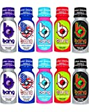 Bang Energy Shots Variety Pack. Low Calorie Carbonated, Gluten Free and Sugar Free Energy Drink