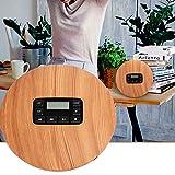 Cuifati Reproductor de CD, Reproductor de música MP3 USB con Bloqueo de Teclas, Reproductor de CD portátil con Conector para Auriculares de 3,5 mm, Soporte para ASP a Prueba de Golpes y Ajuste de