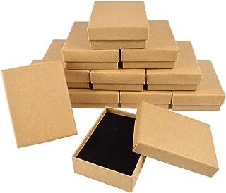 【TKY】 ギフトボックス ラッピングボックス 紙箱 アクセサリー ネックレス プレゼント 12個セット