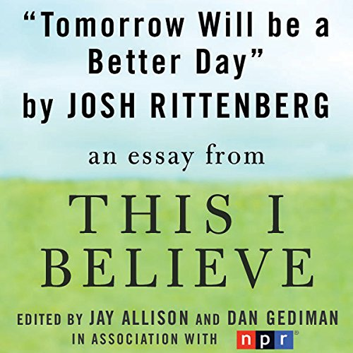 Tomorrow Will Be a Better Day audiobook cover art