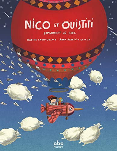 Nico et Ouistiti explorent le ciel (Tapa dura)