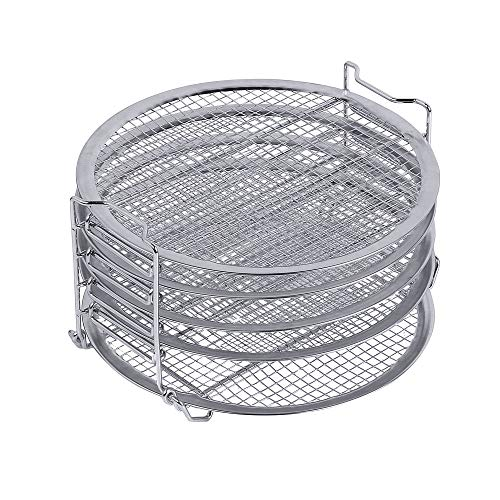 Cheapest Prices! Dehydrator Stand For Ninja Foodi, 6.5 qt & 8 qt, Food grade stainless steel