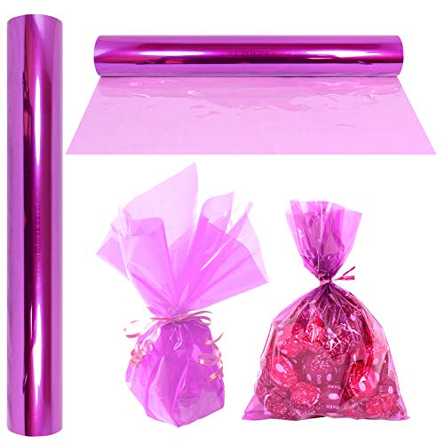 """Cellophane Wrap Roll Lavender   100' Ft. Long X 16"""" in. Wide   2.3 Mil Thick Transparent Lavender   Gifts, Baskets, Treats, Cellophane Wrapping Paper   Colorful Cello Easter, Spring Color  by Anapoliz"""