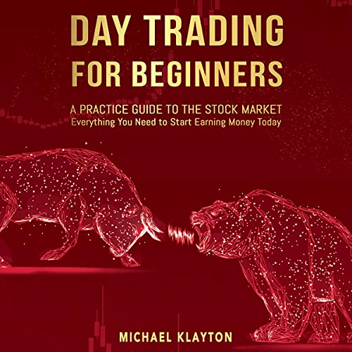 Day Trading for Beginners Audiobook By Michael Klayton cover art
