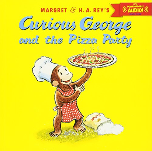 Curious George and the Pizza Party with downloadable audioの詳細を見る