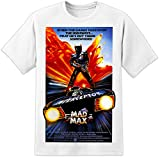 Photo de Mad Max Road Warrior Retro Movie Poster T Shirt (S-3XL) Mel Gibson