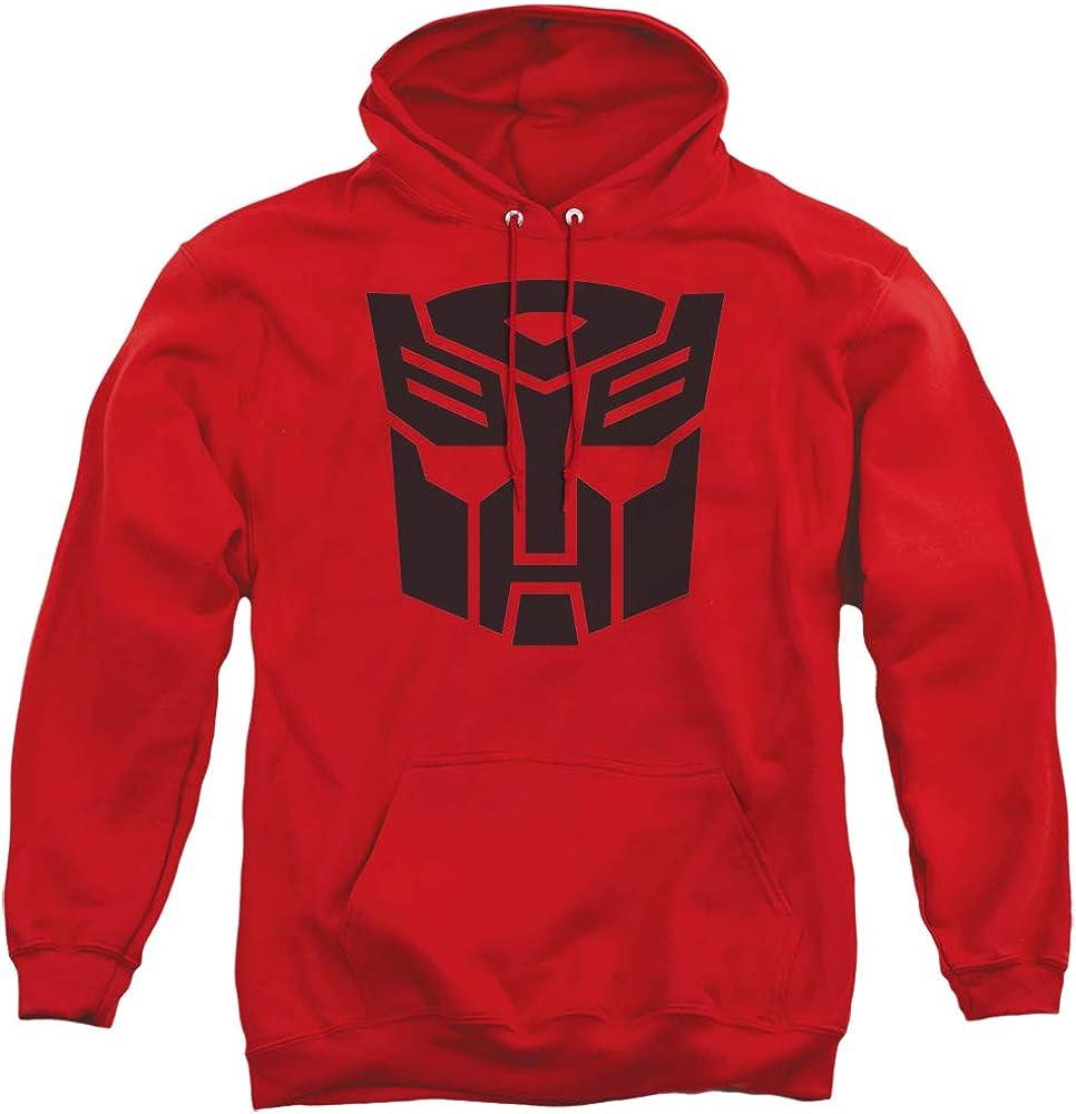 情熱セール Transformers Hoodie Autobot Hoody Seasonal Wrap入荷 Red Logo