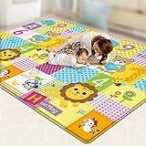 赤ちゃん クロール マット プレイマット タペテ 幼児 1cm 厚さ 赤ちゃん カーペット 演奏する マット フォーム パズル マット サイズ 2m * 1.8m YANW