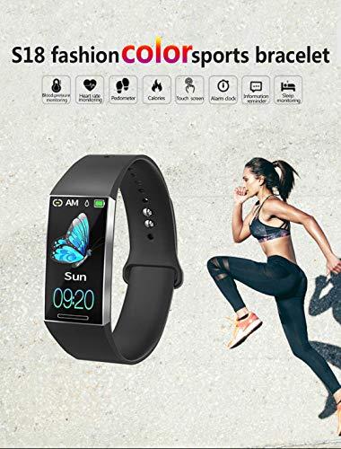 Smart Watches Pulsera Monitor de Actividad Tracker podómetro para Mujeres Hombres Impermeable IP67,7 Modos Deportes con… 2